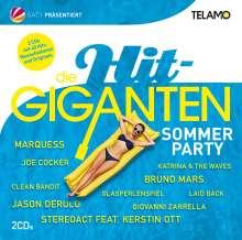 Die Hit Giganten: Sommer Party, 2 CDs
