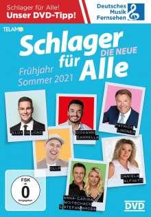 Schlager für Alle: Die Neue - Frühjahr/Sommer 2021, DVD