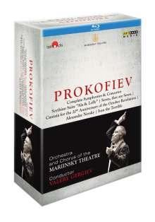 Serge Prokofieff (1891-1953): Serge Prokofieff - Complete Symphonies & Concertos, 4 Blu-ray Discs