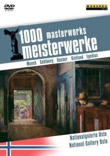 1000 Meisterwerke - Nationalgalerie Oslo, Norwegen, DVD