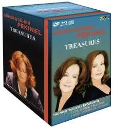 Güher & Süher Pekinel - Treasures, 7 CDs, 4 DVDs und 2 Blu-ray Discs