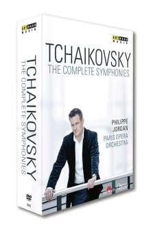 Peter Iljitsch Tschaikowsky (1840-1893): Symphonien Nr.1-6, 3 DVDs