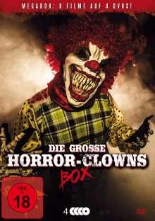 Die große Horror-Clowns Box, 4 DVDs