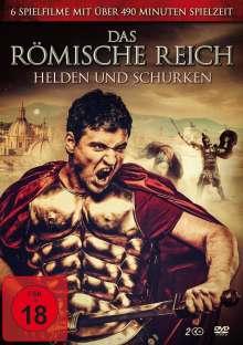 Das römische Reich Box-Edition (6 Filme auf 2 DVDs), 2 DVDs