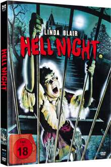 Hell Night (Blu-ray & DVD im Mediabook), 1 Blu-ray Disc und 1 DVD