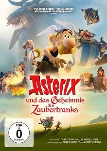Asterix und das Geheimnis des Zaubertranks, DVD