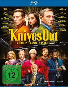 Knives Out (Blu-ray), Blu-ray Disc