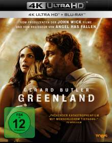 Greenland (Ultra HD Blu-ray & Blu-ray), 1 Ultra HD Blu-ray und 1 Blu-ray Disc