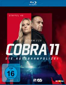 Alarm für Cobra 11 Staffel 46 (Blu-ray), 2 Blu-ray Discs