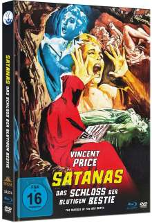 Satanas - Das Schloss der blutigen Bestie (Blu-ray & DVD im Mediabook), 1 Blu-ray Disc und 1 DVD