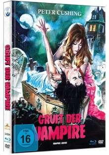 Gruft der Vampire (Blu-ray & DVD im Mediabook), 1 Blu-ray Disc und 1 DVD