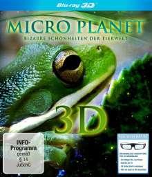 Micro Planet - Bizarre Schönheiten der Tierwelt (3D Blu-ray), Blu-ray Disc