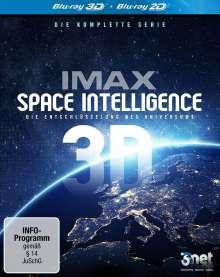 IMAX Space Intelligence Vol. 1-3 (3D Blu-ray), 3 Blu-ray Discs