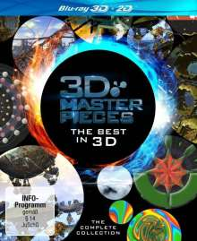 3D Masterpieces: The Best in 3D - The Complete Collection (3D Blu-ray), 2 Blu-ray Discs