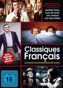Classiques Francais - Klassiker des französischen Kinos, 3 DVDs