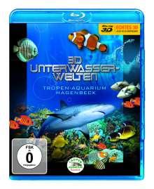 3D Unterwasserwelten - Tropen-Aquarium Hagenbeck (Blu-ray), Blu-ray Disc