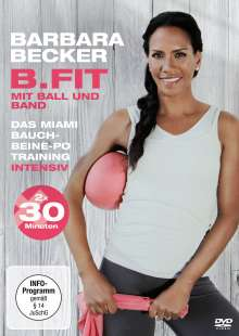 Barbara Becker - B.Fit mit Ball und Band, DVD