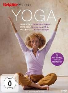 Brigitte - Yoga: Power-Yoga, Core-Yoga, Faszien-Yoga, DVD