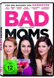 Bad Moms, DVD
