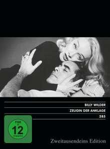 Zeugin der Anklage (1957), DVD