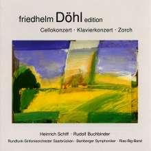 Friedhelm Döhl (1936-2018): Symphonie für Cello & Orchester, CD