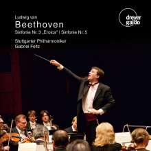 Ludwig van Beethoven (1770-1827): Symphonien Nr.3 & 5, CD