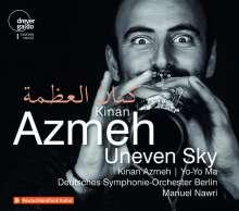 Kinan Azmeh (geb. 1976): Uneven Sky - Werke für Klarinette & Orchester, 2 CDs