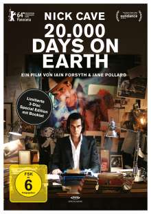 20.000 Days on Earth (OmU) (Special Edition) (Blu-ray & DVD), 1 Blu-ray Disc und 2 DVDs