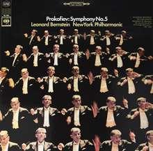 Serge Prokofieff (1891-1953): Symphonie Nr.5 (180g), LP