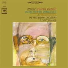 """Serge Prokofieff (1891-1953): Symphonie Nr.1 """"Klassische"""" (180g), LP"""
