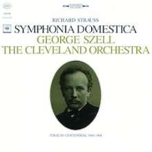 Richard Strauss (1864-1949): Sinfonia Domestica op.53 (180g), LP