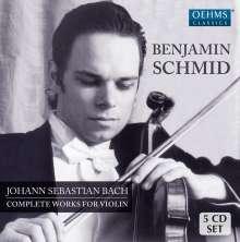 Johann Sebastian Bach (1685-1750): Sonaten für Violine & Cembalo BWV 1014-1019,1021,1023, 5 CDs