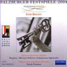 Michael Haydn (1737-1806): Missa pro defuncto Archiepiscopo Sigismundo (Requiem) (Exklusiv für jpc), CD