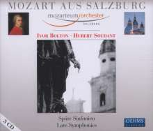 Wolfgang Amadeus Mozart (1756-1791): Symphonien Nr.34,36,38-41, 3 CDs
