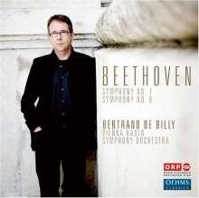 Ludwig van Beethoven (1770-1827): Symphonien Nr.7 & 8, Super Audio CD