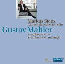 Gustav Mahler (1860-1911): Symphonien Nr.9 & 10 (Adagio), 2 Super Audio CDs