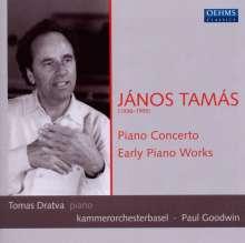 Janos Tamas (1936-1995): Klavierkonzert, CD
