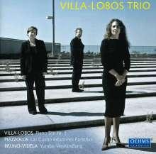 Heitor Villa-Lobos (1887-1959): Klaviertrio Nr.1, CD