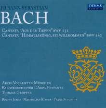 Johann Sebastian Bach (1685-1750): Kantaten BWV 131 & 182, CD