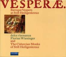 Vesperae - Barockvespern aus dem Stift Heiligenkreuz, CD