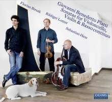 Giovanni Benedetto Platti (1697-1763): Sonaten für Cello,Violine,Bc, CD