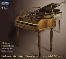 Leopold Mozart (1719-1787): Trios für Cembalo,Violine,Cello (Eisen XI Nr.1-3), 2 CDs