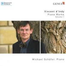 Vincent d'Indy (1851-1931): Klavierwerke Vol.1, CD