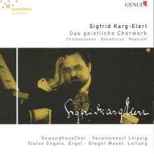 Sigfrid Karg-Elert (1877-1933): Geistliche Chorwerke, CD