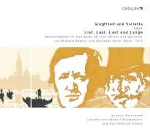 German Horn Sound - Siegfried und Violetta (oder: List, Last, Lust und Lunge), 2 CDs