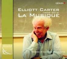 """Elliott Carter (1908-2012): Kammermusik """"La Musique"""", CD"""