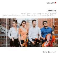 """Gerald Resch (geb. 1975): Streichquartett Nr.3 """"Attacca"""", CD"""