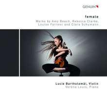 Lucie Bartholomäi - female, CD