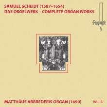 Samuel Scheidt (1587-1654): Das Orgelwerk Vol.4, CD