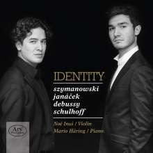 Noe Inui & Mario Häring - Identity, Super Audio CD
